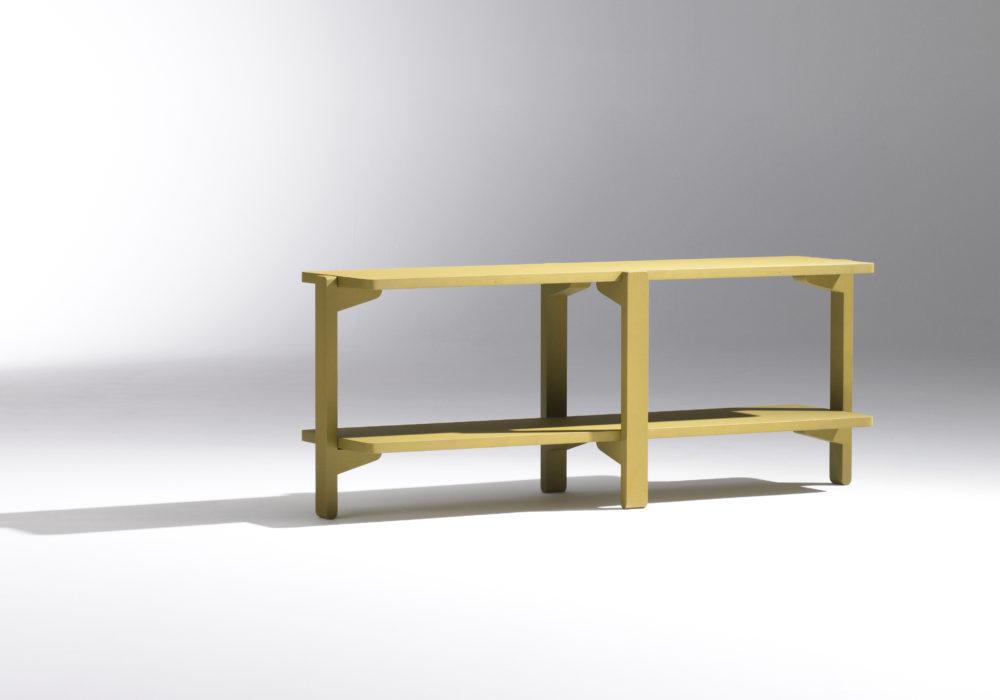 Étagère / Rangement bas / vert / meuble de rangement bas / Designer Jérôme Gauthier / Éditeur Soca