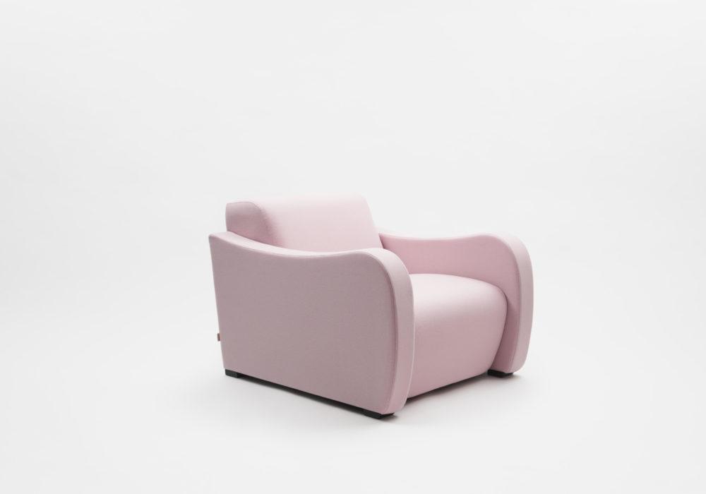 Fauteuil design contemporain soca Thierry D'Istria