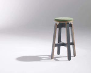 tabouret haut bar design frizz / Design Thierry D'Istria / Editeur SOCA