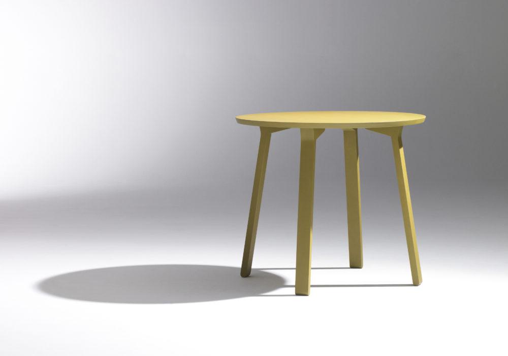 petite table design / table d'appoint / vert / guéridon / Designer Jérôme Gauthier / Éditeur Soca