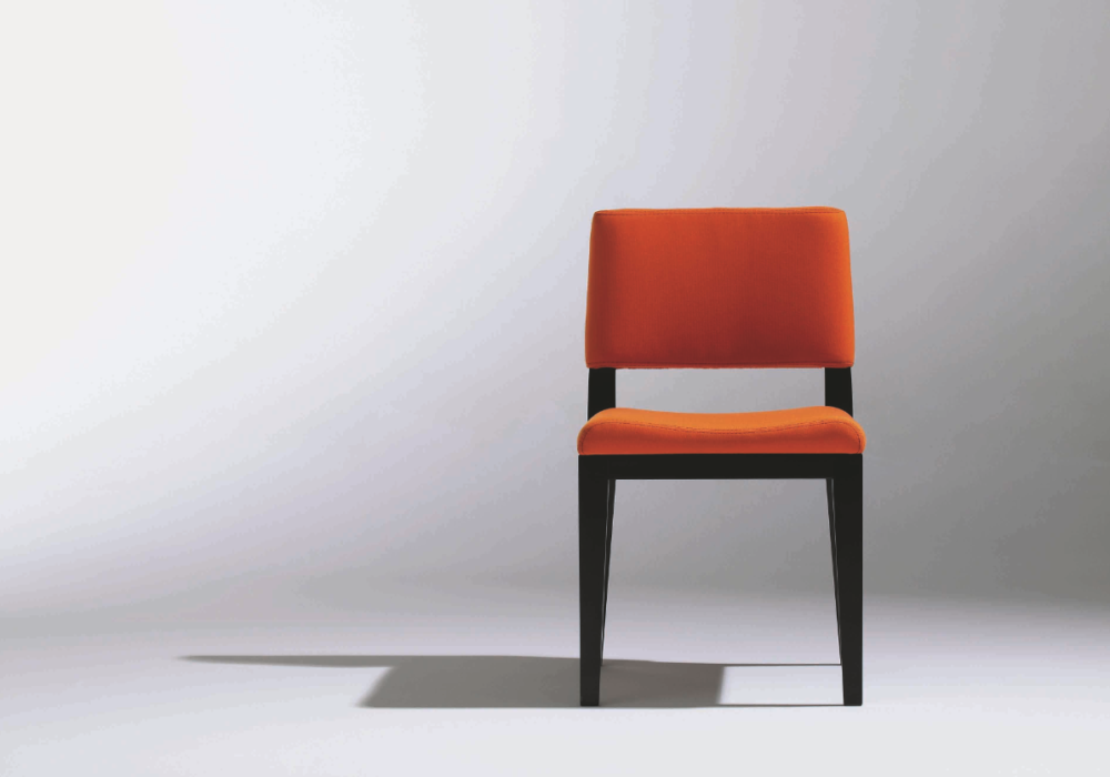 Chaise Design contemporain Rouge George Karam Soca