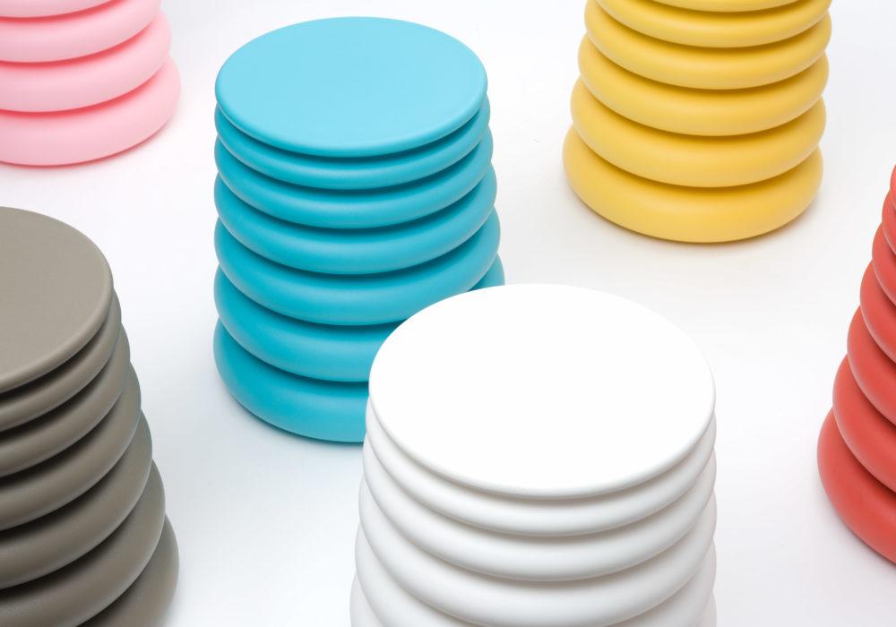 poufs contemporains design colorés SOCA Thierry D'Istria