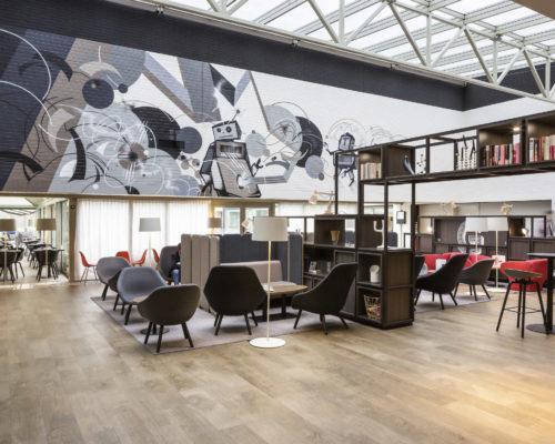 Hall Novotel Milano Linate Aeroporto