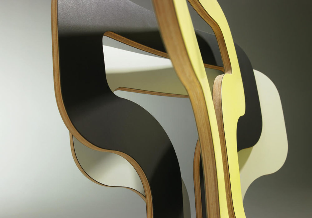 dossiers chaises couleurs design Soca Thierry D'Istria