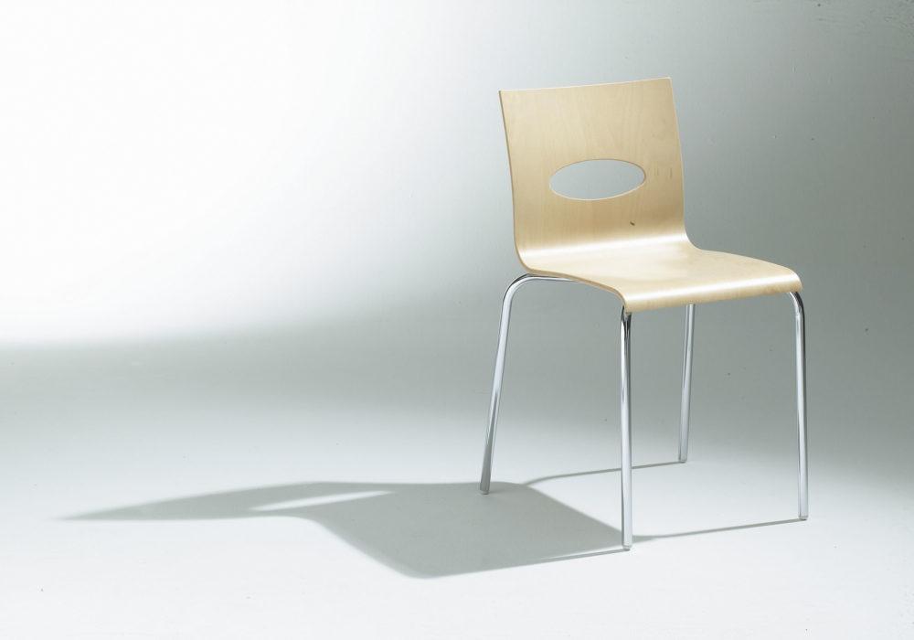 Chaise restaurant bois