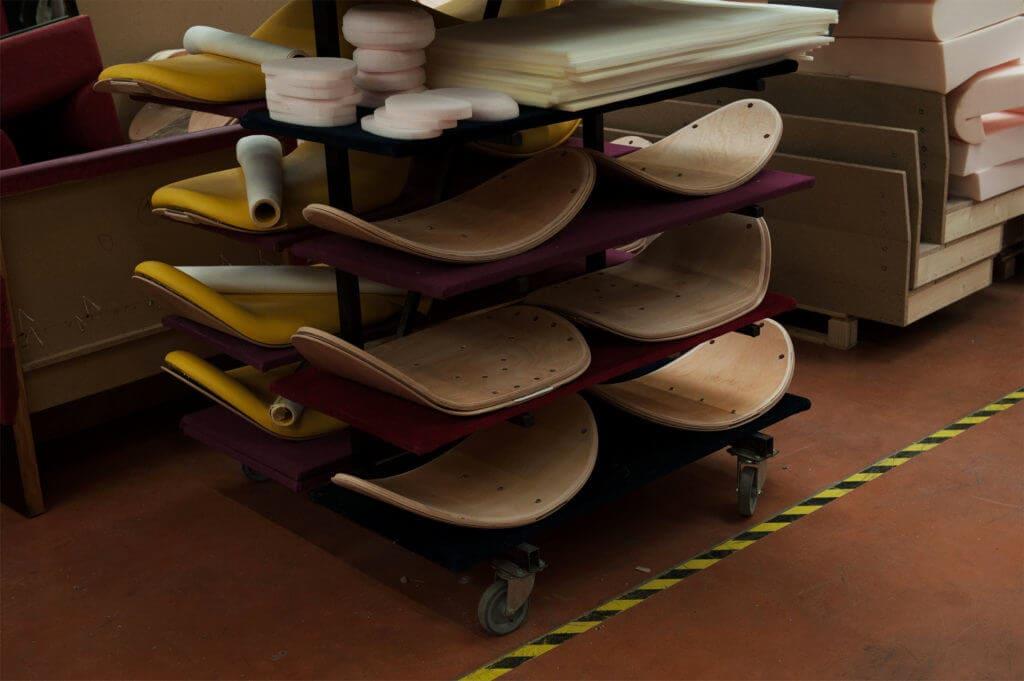 dossier de chaise construction atelier soca